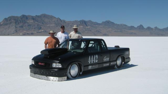 Dave and the crew at Bonneville Speed Week 2011