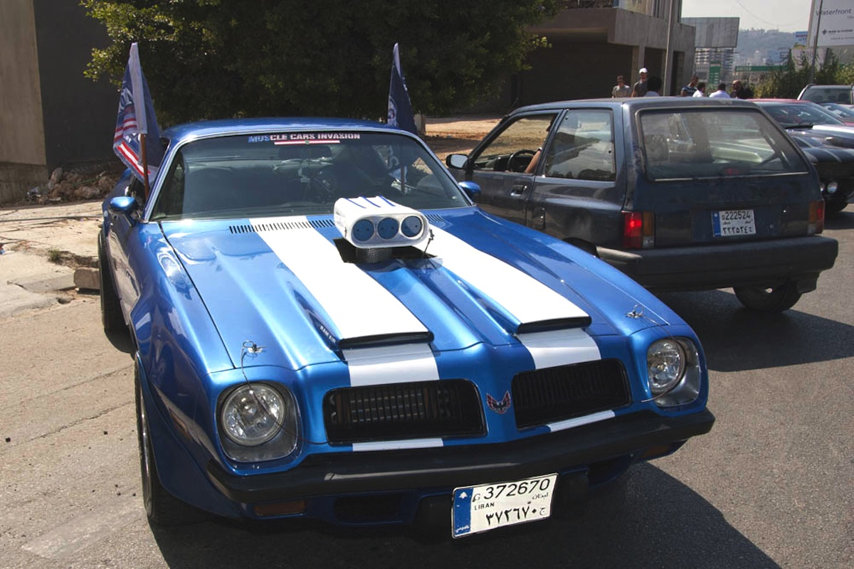 Lebanon\'s Muscle Car Invasion Brings American Muscle To The Mid East ...