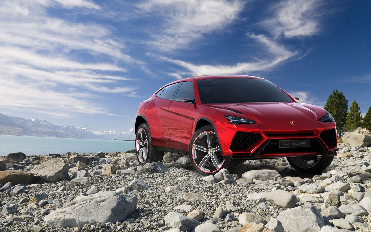 Lamborghini To Release Replacement To Off-Road