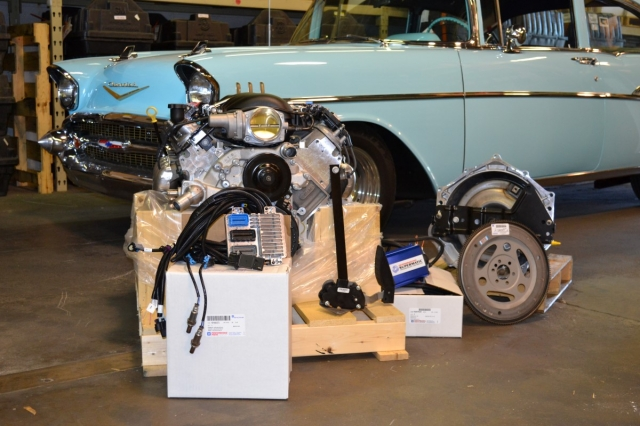You can find everything you'll need in the Pace Performance catalog, from LS engines to transmissions and more, making a swap into your older hotrod a simple task.